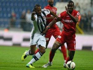 Beşiktaş yine takıldı
