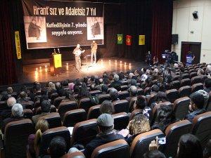 Hrant Dink; Diyarbakır'da anıldı