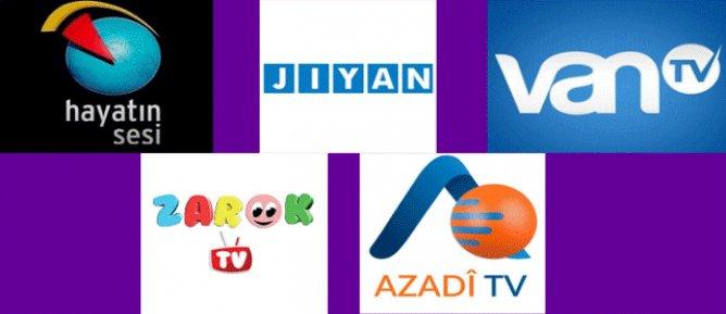 Zarok TV, Hayatın Sesi ve TV 10 dahil 12 kanal karartıldı