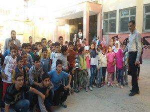 120 Suriyeli eğitime başladı