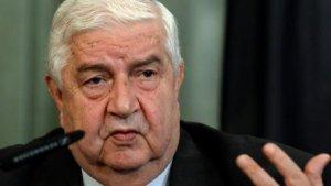 Suriye Dışişleri bakanı Türkiye'yi tehdit etti
