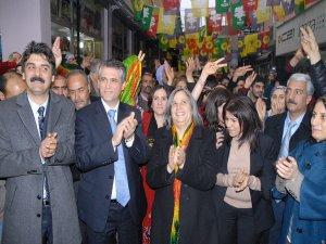 Bdp Ergani'de Aday Tanıtım Toplantısı Düzenledi