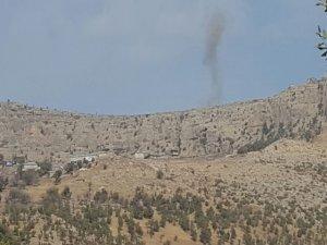 PKK'lilerden havanlı saldırı