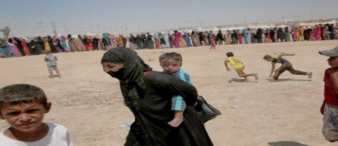 Musul'dan 4 bine yakın göç