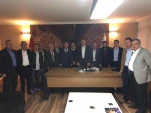 AK Parti Siirt Başkanlığı'nda istişare toplantısı