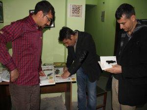 Yazar Jir okuyucuları ile bir araya geldi