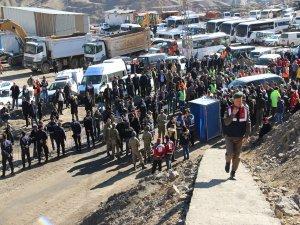 Emine Erdoğan ve bakanların ziyareti öncesi yoğun güvenlik önlemi alındı
