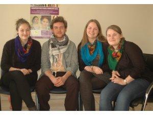 Norveç'li gençler Kürt mücadelesinde esinlenmek için geldi