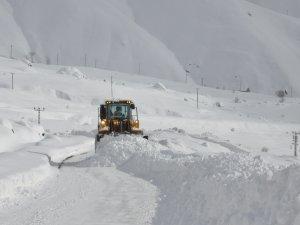 Hakkari'de 8 köy ve 27 mezra yolu ulaşıma kapandı