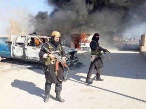 IŞİD'liler bu kez motorlarla saldırdı!