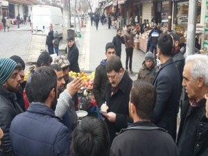 Akar'dan  Sur mağdurlarına ziyaret