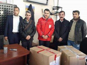 Ergani'de kışlık giyecek yardımı