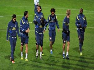 Fenerbahçe, galatasaray maçı hazırlıklarına başladı