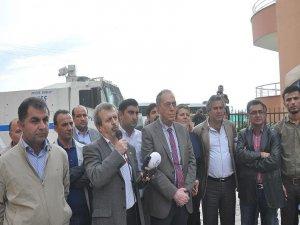 Polis,8 kişilik TTP heyetinin Gökkan'la görüşmesine izin vermedi