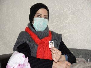 2 yaşındaki kızını Suriye'de bırakıp tedavi için Batman'a geldi
