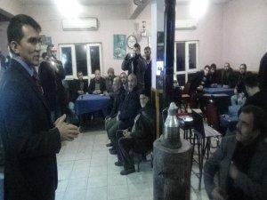 Kahvehanede uyuşturucu semineri