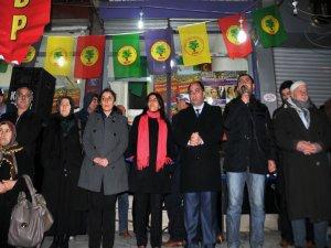Kayapınır'daki seçim bürolarının açılışlarına binler katıldı