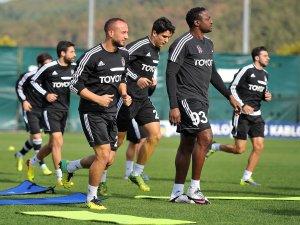Beşiktaş, Kayserispor maçı hazırlıklarını sürdürüyor