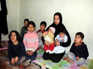 Suriyeli üçüzler 'first lady'lerle adaş oldu
