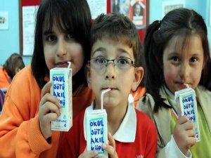 6,5 milyon öğrenciye süt dağıtılacak