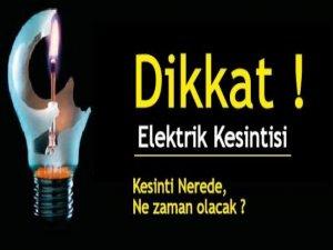 26 köye 4 saat elektrik verilmeyecek