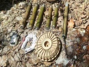 Tunceli'de roket ve anti tank mayını ele geçirildi