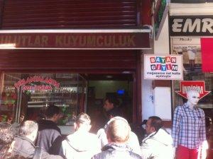 Diyarbakır'da kuyumcu soygunu