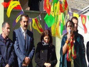 Bdp'nin Kulp Seçim Bürosu Açıldı