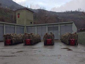 Siirt'te 517 korucu göreve başladı