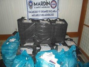 Mardin'de kaçakçılık ve uyuşturucu operasyonları