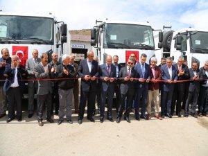 Tunceli'ye 4 çöp toplama aracı ve 250 konteyner