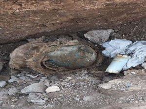 Mardin'de tuzaklanan patlayıcı ve mühimmat ele geçirildi