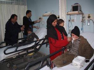 Suriyeli hasta çocuklara zabıta sahip çıktı