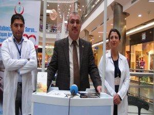Diyarbakır sağlık müdürlüğü ninova park'ta organ bağışı standı açtı