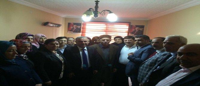 AK Parti Diyarbakır Teşkilatı teşekkür ziyaretlerini sürdürüyor