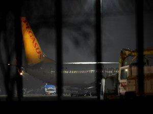 İstanbul'da uçak kaçırma girişimi