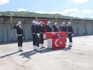 Şehit polis memuru için tören düzenlendi