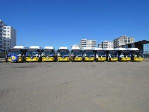 10 yeni otobüs halkın hizmetinde