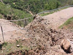 Tunceli'de menfeze tuzaklanan 500 kilo patlayıcı imha edildi