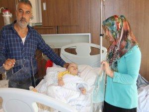 9 aylık bebeğin tedavi parası çalındı