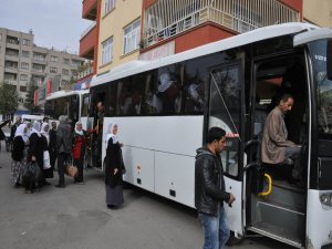 Nusaybin'e gidişler başladı