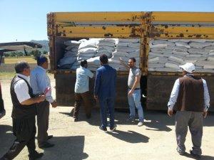 Çiftçilere 23 ton organik gübre desteği