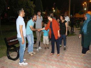 Başkan Akat Körhat Parkında vatandaşlarla buluştu