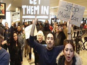 Trump'ın vize yasağı yürürlüğe girdi