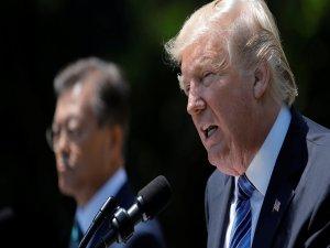 Trump: Kuzey Kore'ye sabrımız sona erdi