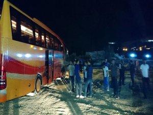 Yola Savrulan Şoför hayatını kaybetti