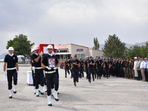 Şırnak'ta şehit polis için tören