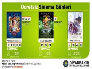 Temmuz ayı sinema günleri başlıyor