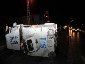 Şırnak'ta zırhlı polis araçları çarpıştı: 1 şehit, 1 yaralı