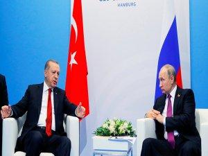 Putin ve Erdoğan, Hamburg'da buluştu